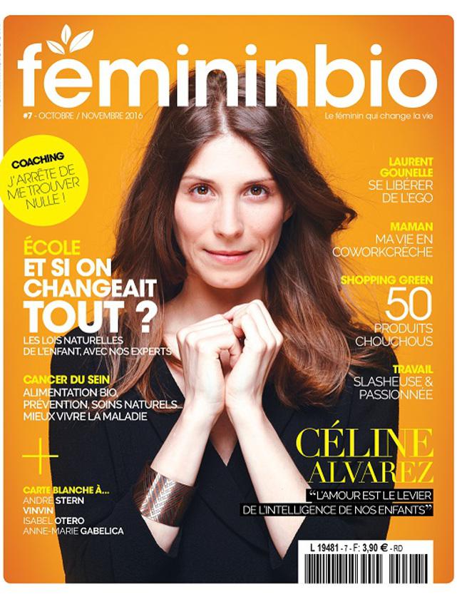 Couverture du magazine Féminin Bio