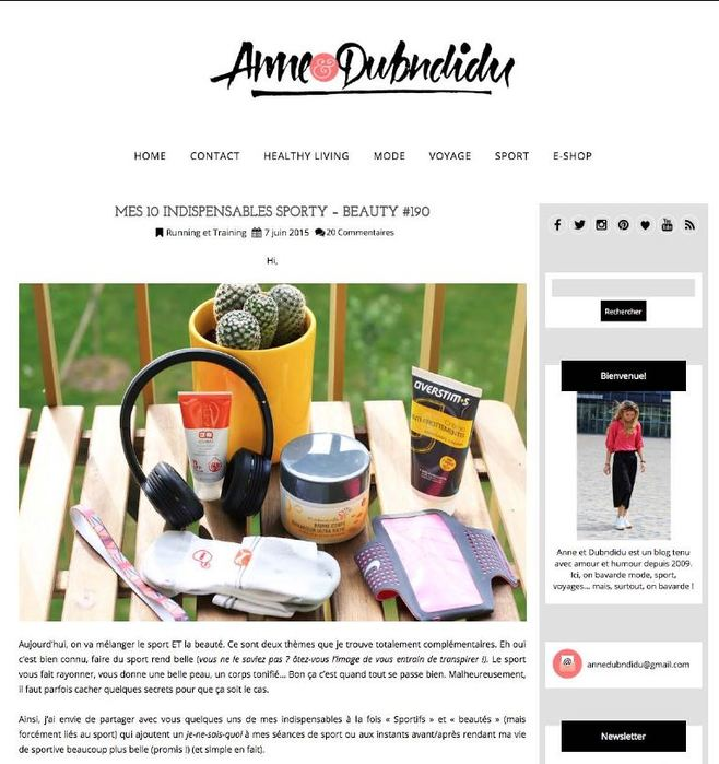 Le baume des titans rouge sur le blog Anne & Dubndidu