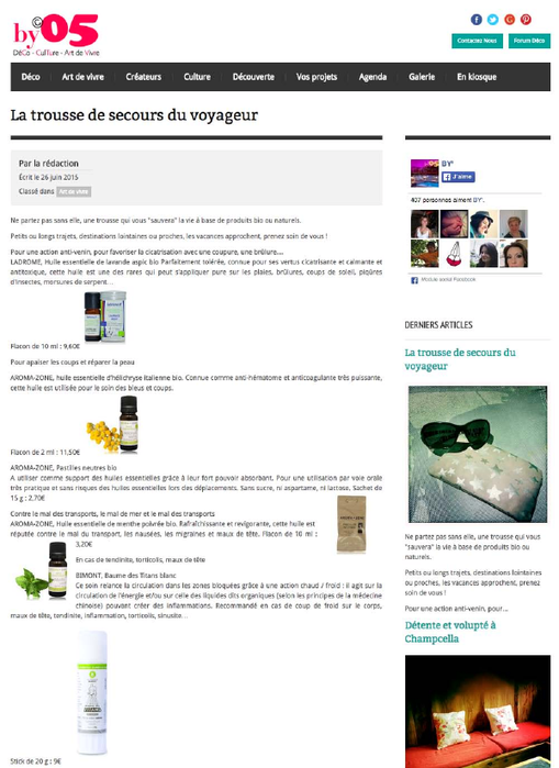 Couverture by le mag