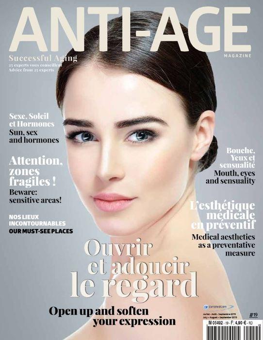 Ikken dans Anti-âge magazine