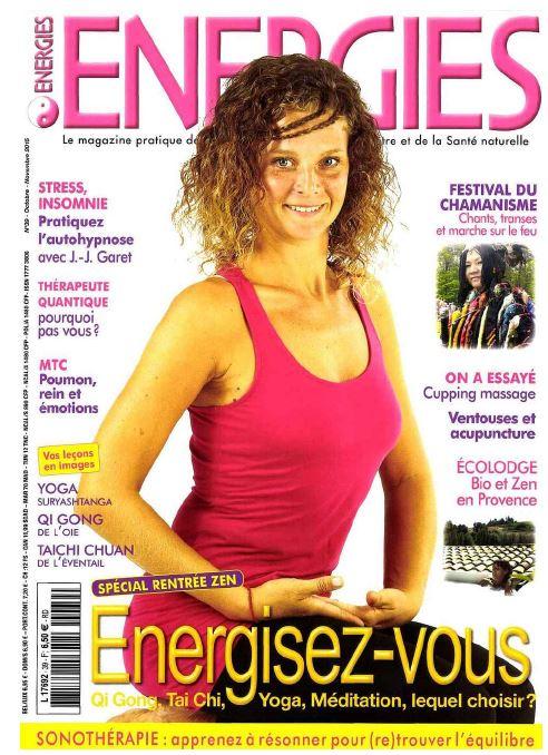 Bertand Bimont nous parle de l'automne en MTC dans le magazine Energies