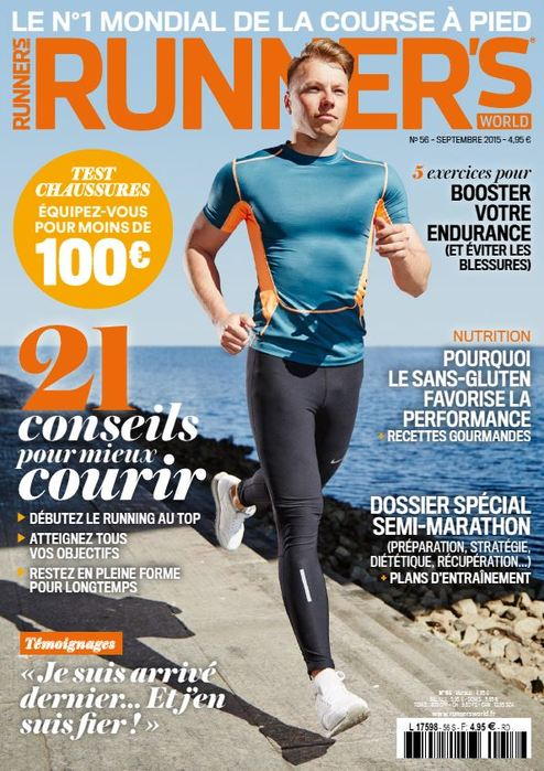 Bertrand Bimont expert dans le magazine Runner's world