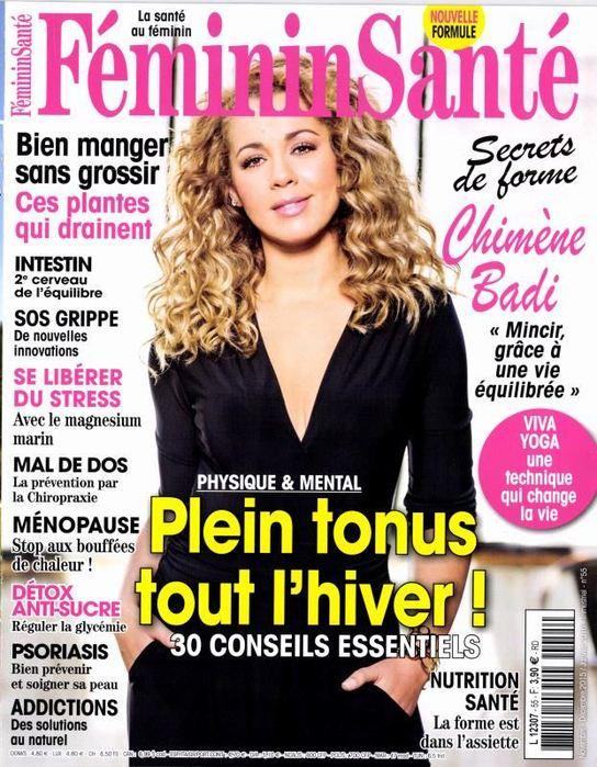 Le complément Berberis dans le magazine Feminin Santé