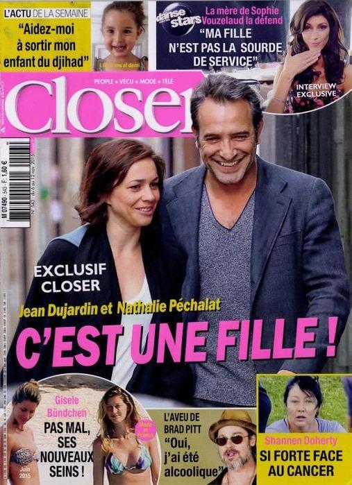 Ishin' est dans le dernier Closer (Novembre 2015)