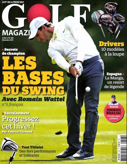 Les baumes des titans dans Golf magazine
