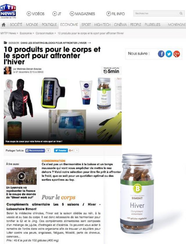 MY TF1 - DECEMBRE 2015 / WEB