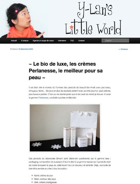 Blog Y-Lan's Little Word