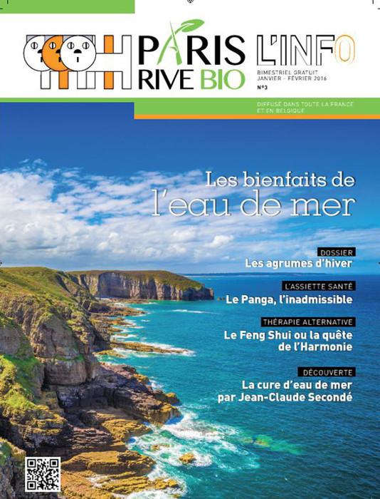 PARIS RIVE BIO - JANVIER 2016 / PRESSE