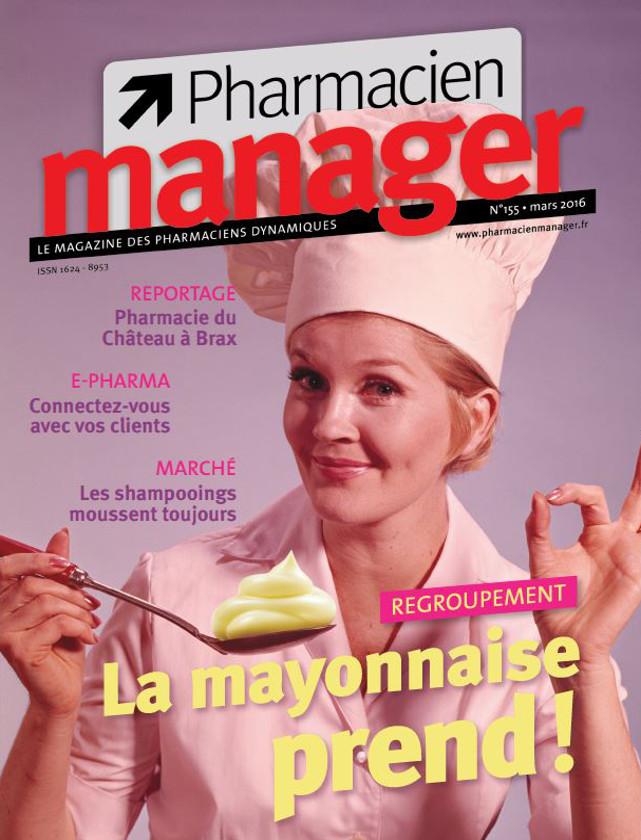 PHARMACIEN MANAGER - MARS 2016 / PRESSE