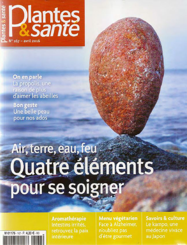 PLANTES ET SANTE - AVRIL 2016 / PRESSE