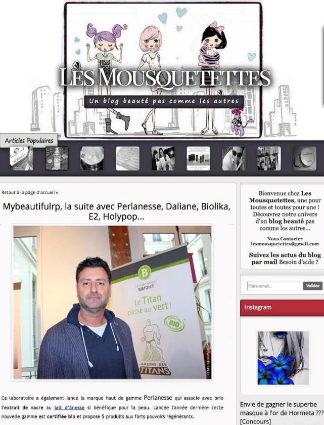 LES MOUSQUETETTES - AVRIL 2016 / web