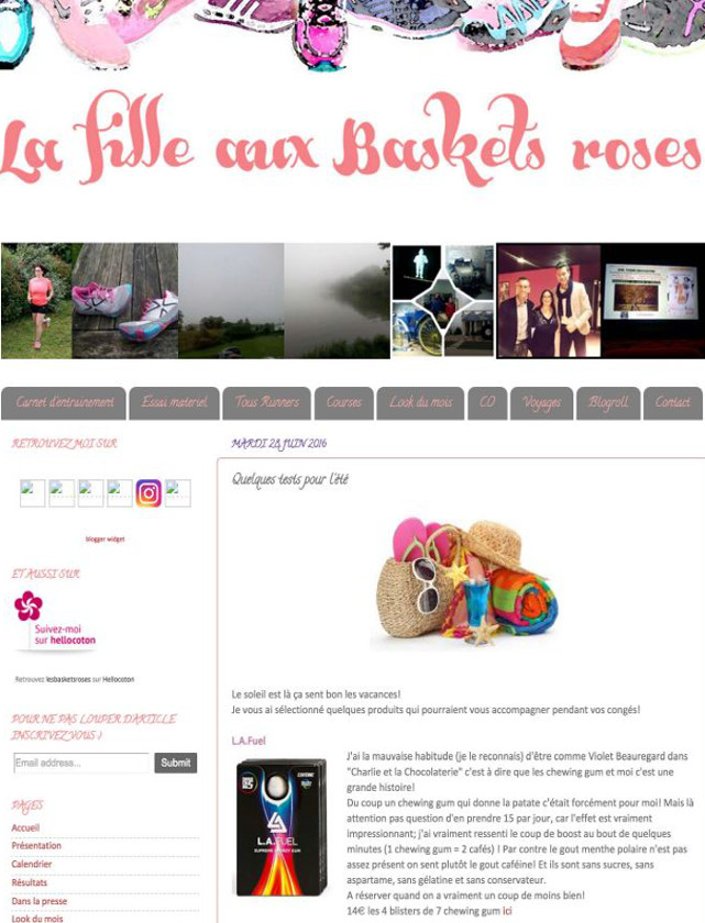 LA FILLE AUX BASKETS ROSES - JUIN 2016 / WEB