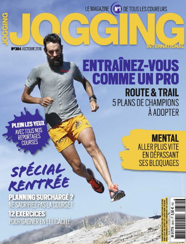 JOGGING INTERNATIONAL - OCTOBRE 2016 / PRESSE