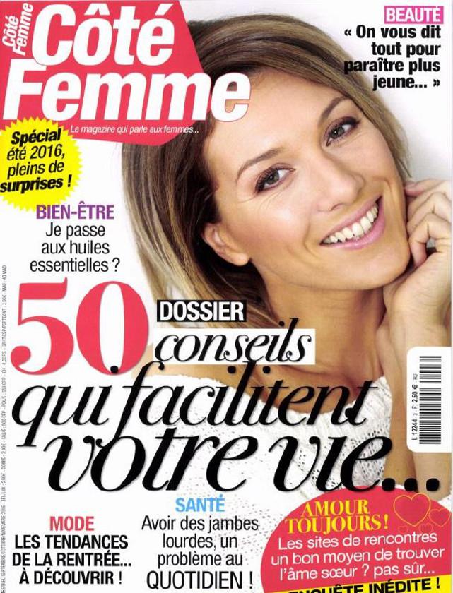 COTE FEMME - SEPTEMBRE NOVEMBRE 2016 / PRESSE