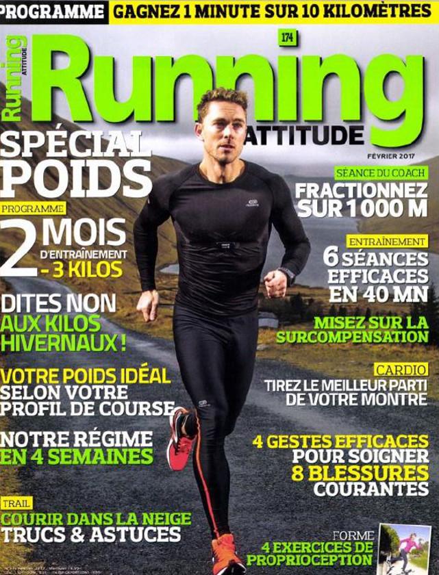 RUNNING ATTITUDE - FEVRIER 2017 / PRESSE