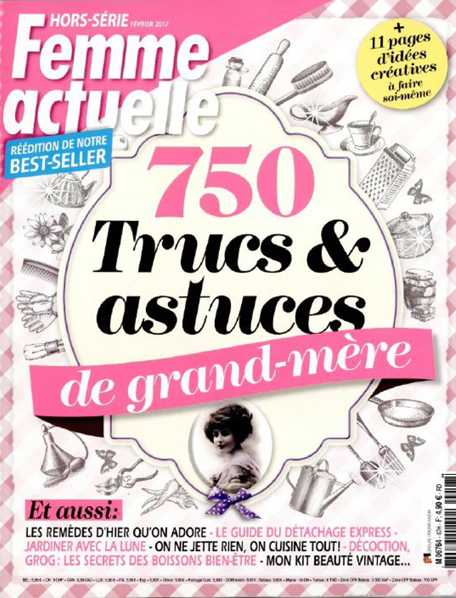HORS SERIE FEMME ACTUELLE - FEVRIER 2017 / PRESSE