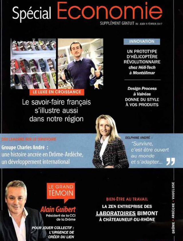 LE JOURNAL DE TOURNON TAIN SUPPLEMENT - FEVRIER 2017 / PRESSE