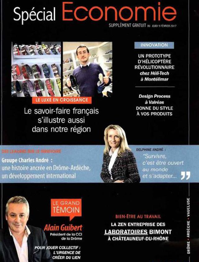 LE JOURNAL DE TOURNON TAIN SUPPLEMENT - FEVRIER 2017 / PRESSE