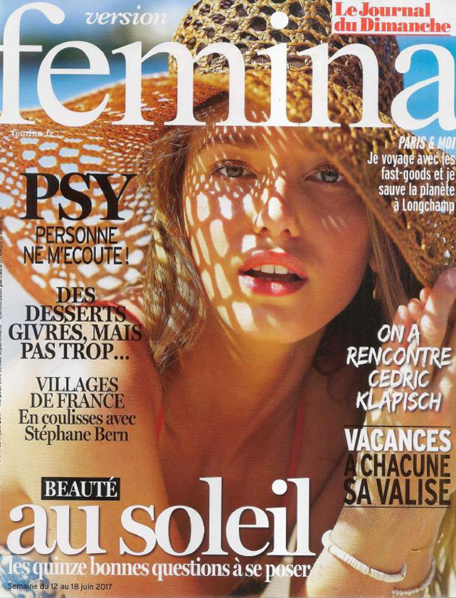 VERSION FEMINA - JUIN 2017 / PRESSE