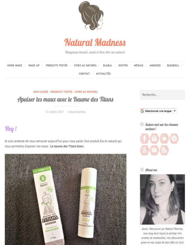 NATURAL MADNESS - OCTOBRE 2017 / WEB