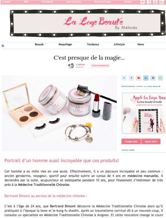 Blog La loge beauté