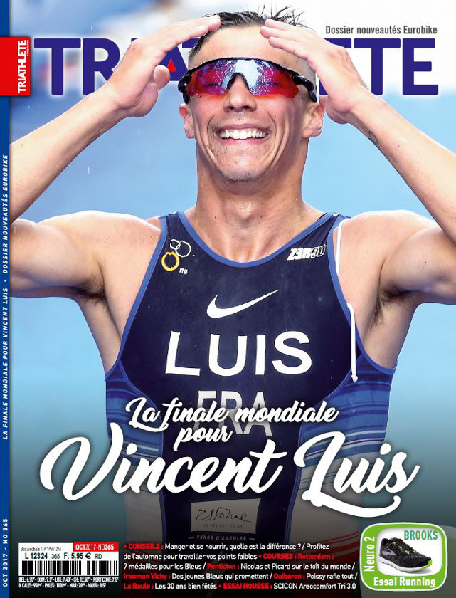 TRIATHLETE - OCTOBRE 2017 / PRESSE