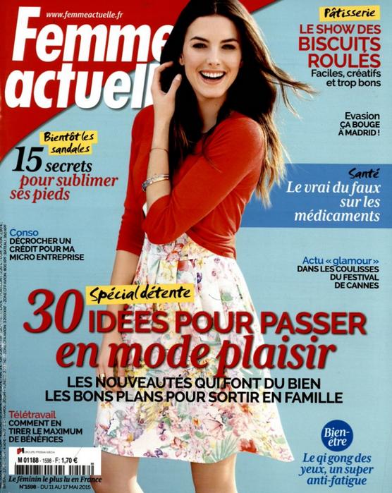 Couverture magazine