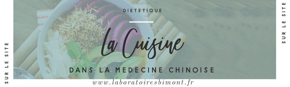 Cuisine en médecine chinoise, un principe de base