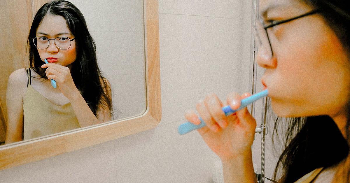 saignement au brossage des dents: c'est une gingivite !