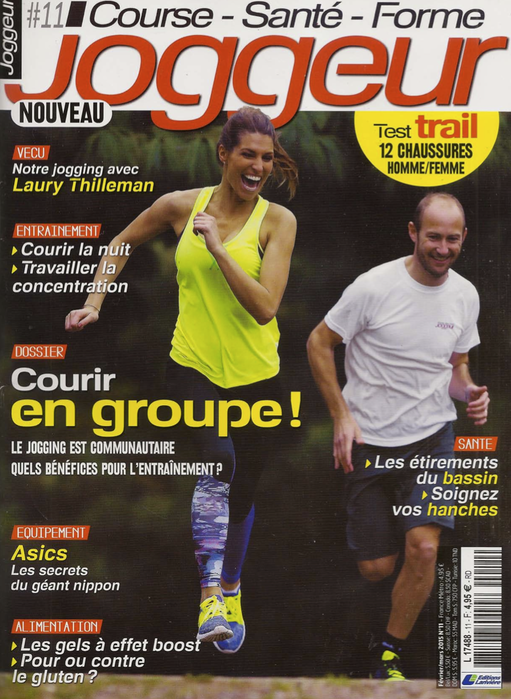 Jogger magazine