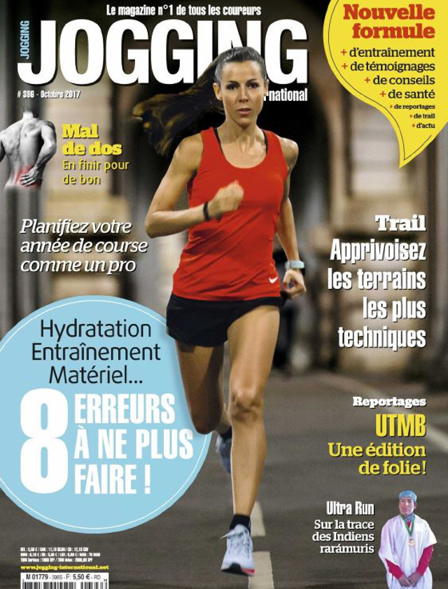 JOGGING INTERNATIONAL - OCTOBRE 2017 / PRESSE