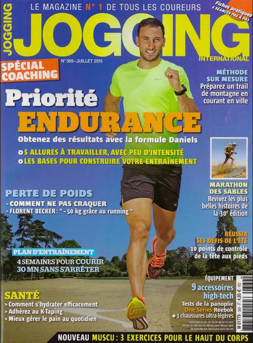 Le baume des titans dans Jogging international