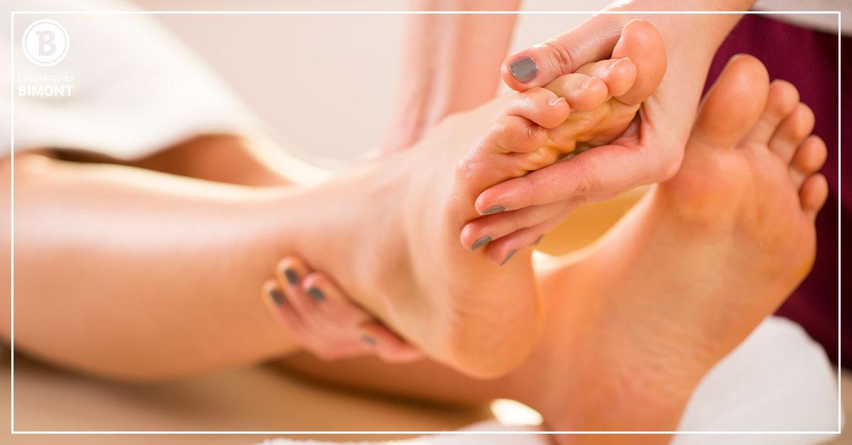 massage plantaire pour se relaxer de la tête aux pieds