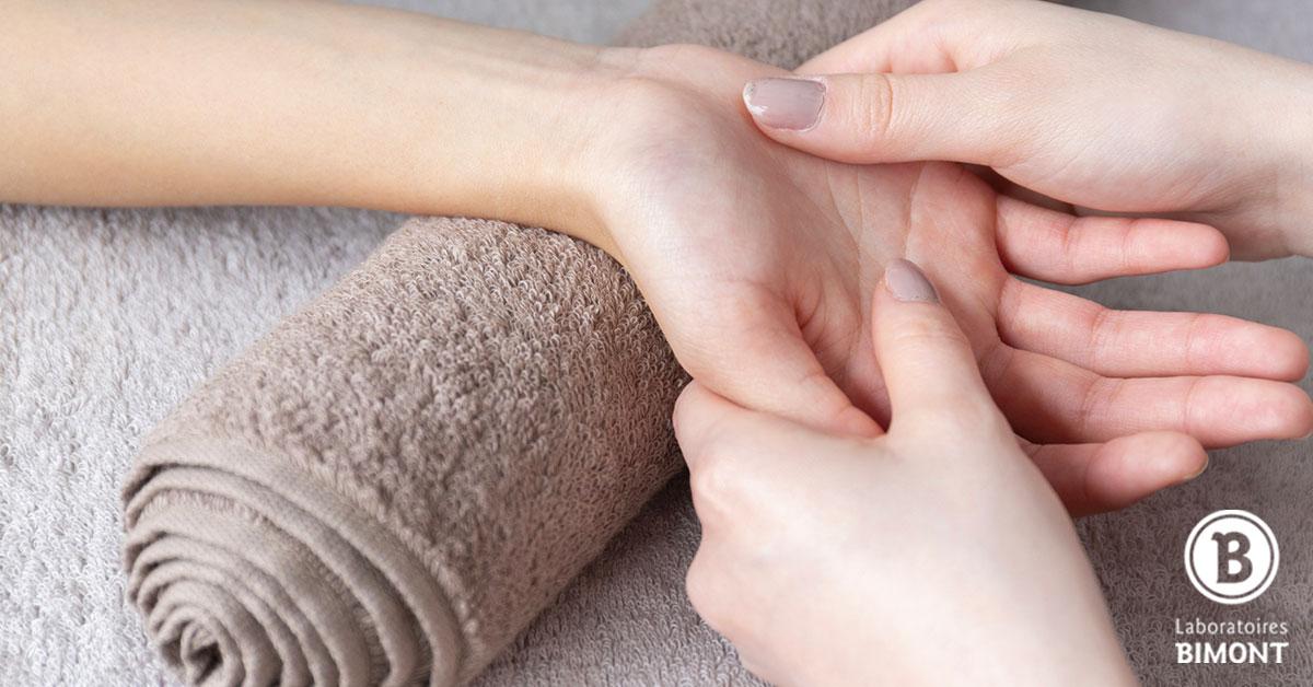 méridien de la main