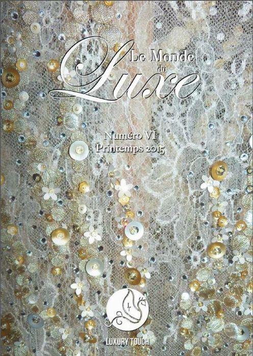 """Yume dans le magazine """"Le monde du luxe"""" de Luxury Touch"""