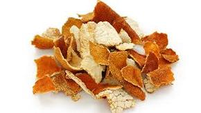 Mandarine peau