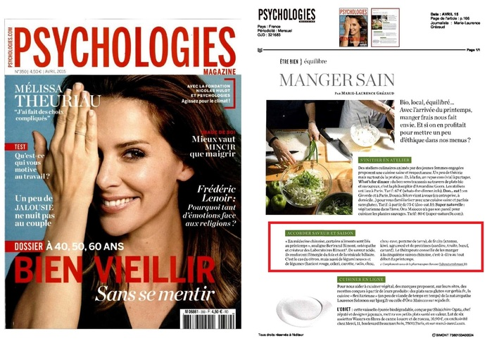 Bertrand Bimont expert pour Psychologies Magazine