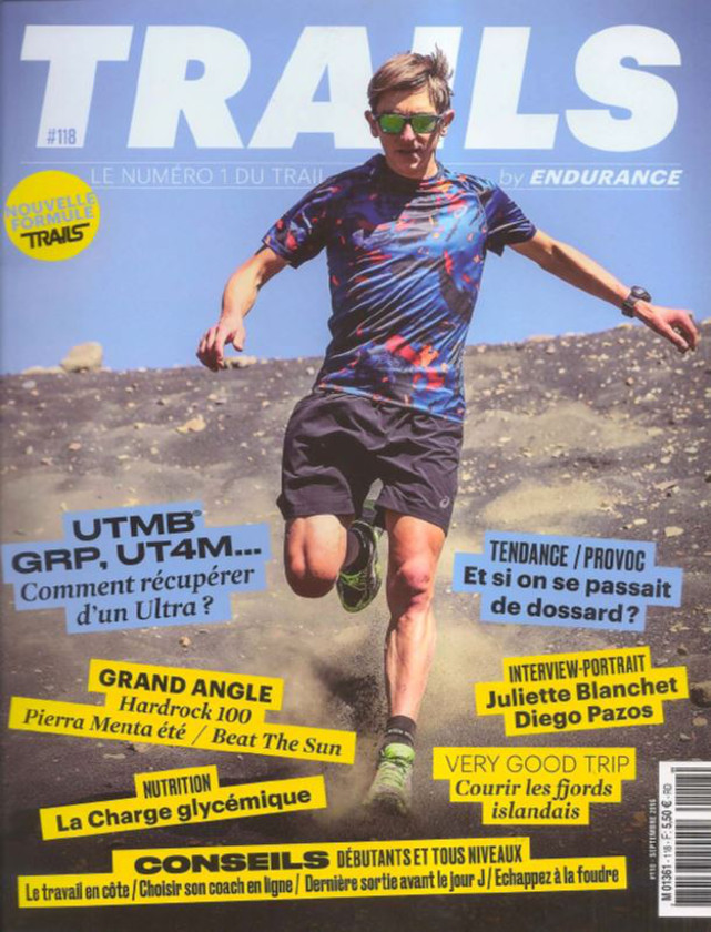 TRAILS - SEPTEMBRE 2016 / PRESSE