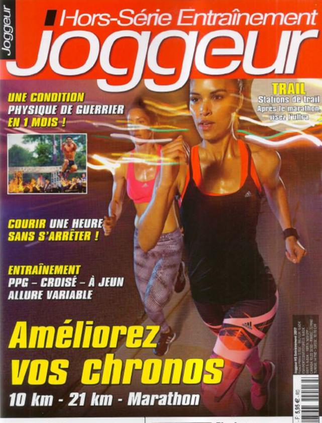 JOGGEUR HS ENTRAINEMENT - AVRIL 2017 / PRESSE
