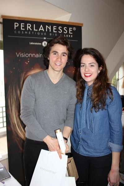 Julien Dereims et Anouschka Delon