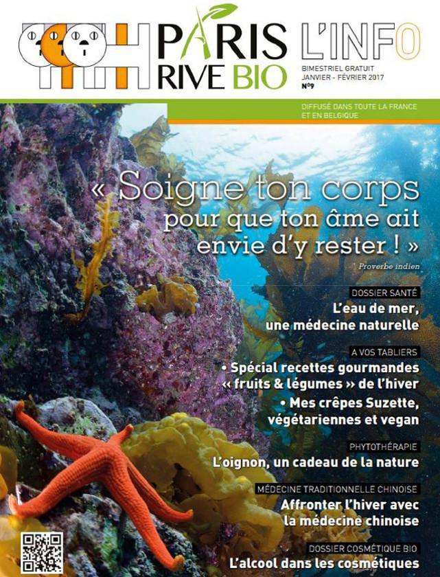 PARIS RIVE BIO - JANVIER FEVRIER 2017 / PRESSE