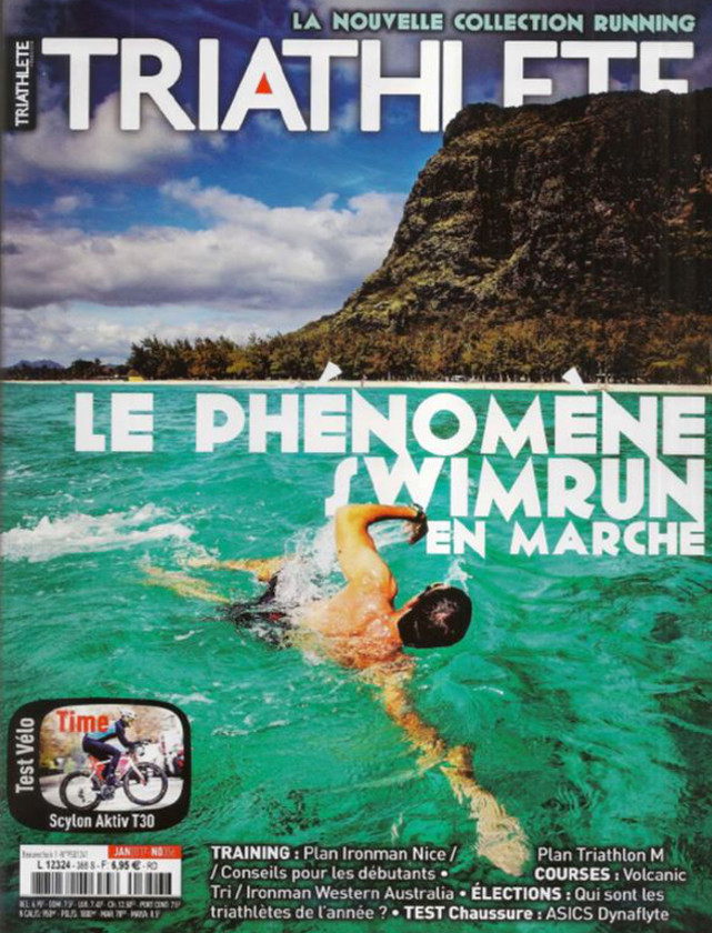 TRIATHLETE - JANVIER 2017 / PRESSE