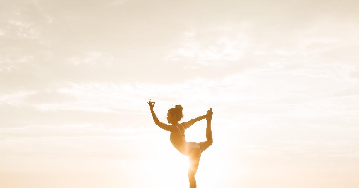 Position de yin yoga